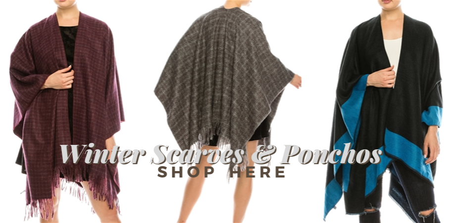 Wholesale Blanket Scarves - New Wholesale Ponchos Ruenas Winter Scarves