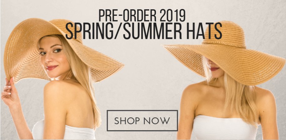 2019 Wholesale Straw Hats - Womens Summer Hats