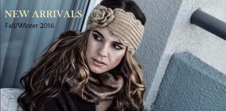 New Wholesale Winter Hats Headbands Scarves
