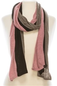 wholesale scarves - bulk fashion accessories - three color scarf