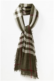 wholesale plaid scarves - soft winter scarf