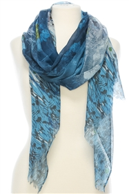 1056 Summer Nights Print Scarf