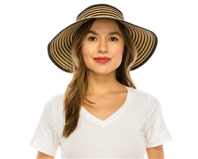 wholesale sun visor hats roll up travel resort fashion accessories