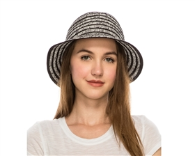 wholesale womens bucket hats striped