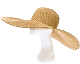 extra wide brim hats wholesale - big floppy straw sun beach pool lake sand hat