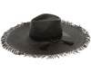 Wholesale Floppy Fringe Hats - Wide Brim Womens Beach Hat