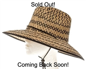 wholesale straw lifeguard hats - unisex hat for women and men