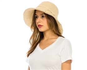 Wholesale Patterned Fine Crochet Sun Hat