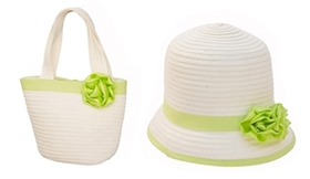 wholesale girls hat set kids purses