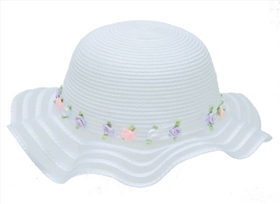 wholesale flower girls hat