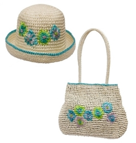 wholesale half off hat purse set