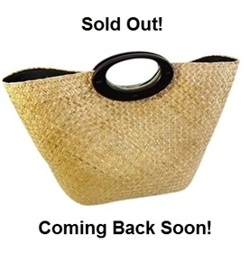wholesale tote bags oversized seagrass straw handbag