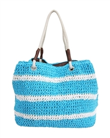wholesale beach bags straw totes rope handles