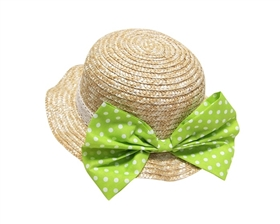 wholesale girls wheat straw sun hat