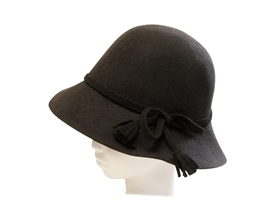 Wholesale Kids Wool Felt Hat with Tied Bow