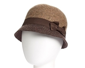wholesale marled cloche hat