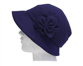 wholesale cloche hat with flower