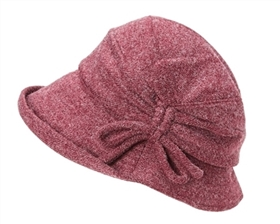 wholesale fabric cloche w side knot