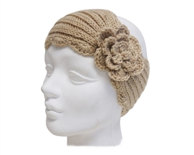 Wholesale Headband Knit with Rosette
