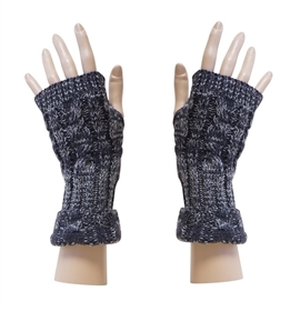 Wholesale Fingerless Gloves Marled Colors