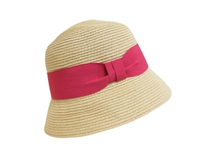 wholesale straw bucket hats wide band