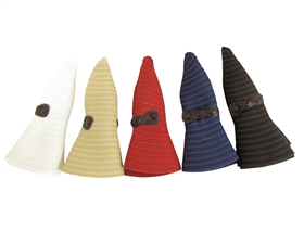 wholesale packable hats ribbon rollup sun hat  snap