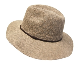 wholesale nubby knit panama hat