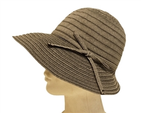 Ribbon Hats - Packable Womens Hat