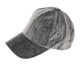 wholesale fashion textured velvet baseball hats - womens winter caps