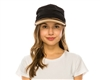 Wholesale Pleated Fabric Cap Womens Beach Hat