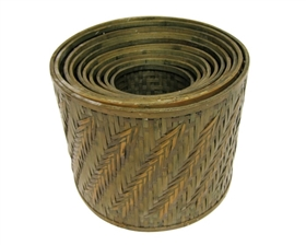 wholesale bamboo planters baskets flower shop