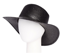Handwoven Wholesale Straw Sun Hats - Flat Top