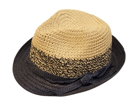 Wholesale Straw Hats - Summer Fedora