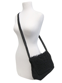 wholesale loopy crochet purse