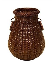 wholesale woven bamboo flower vase