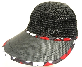 267243062a0 wholesale 3 dollars 98208  3 Straw Visor Caps ...