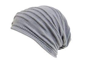 wholesale pleated slouchy beanie