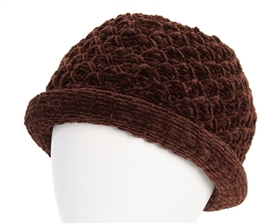 wholesale chenille roller hats for women