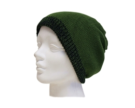 wholesale reversible beanies blended colors