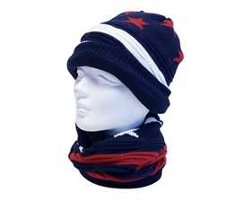 wholesale beanie stars and stripes red white and blue