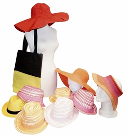 Wholesale Summer Grab Bags - Hats and More