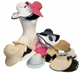 Wholesale Spring Summer Wide Brim Hats and Fedoras Grab Bag