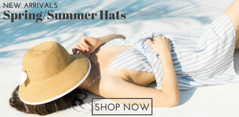 Wholesale Womens Straw Hats - Spring Summer Accessories