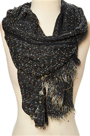 wholesale womens scarves nubby pattern