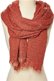 wholesale nubby multi stripes scarf