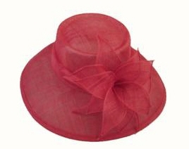 wholesale sinamay hats wide brim with ribbon