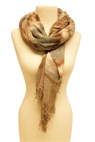 wholesale scarves tie dyed soft knit