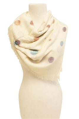 wholesale polka dot scarves
