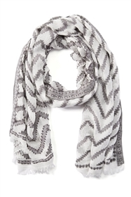 wholesale zigzag scarves - summer fashion scarves