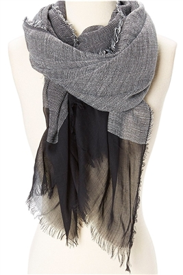 wholesale ladies scarves textured sheer
